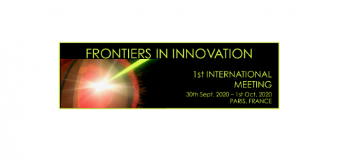 International meeting - Frontiers in innovation